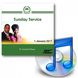 Dr Goodwill Shana 1 January 2017 Sunday Service