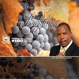 Divine Order Principle of Fruitfulness - 28 Oct 2018
